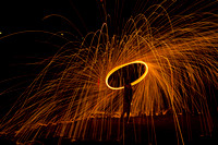 Steel Wool Fireworks