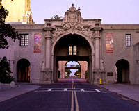 A short evening walk about Balboa Park